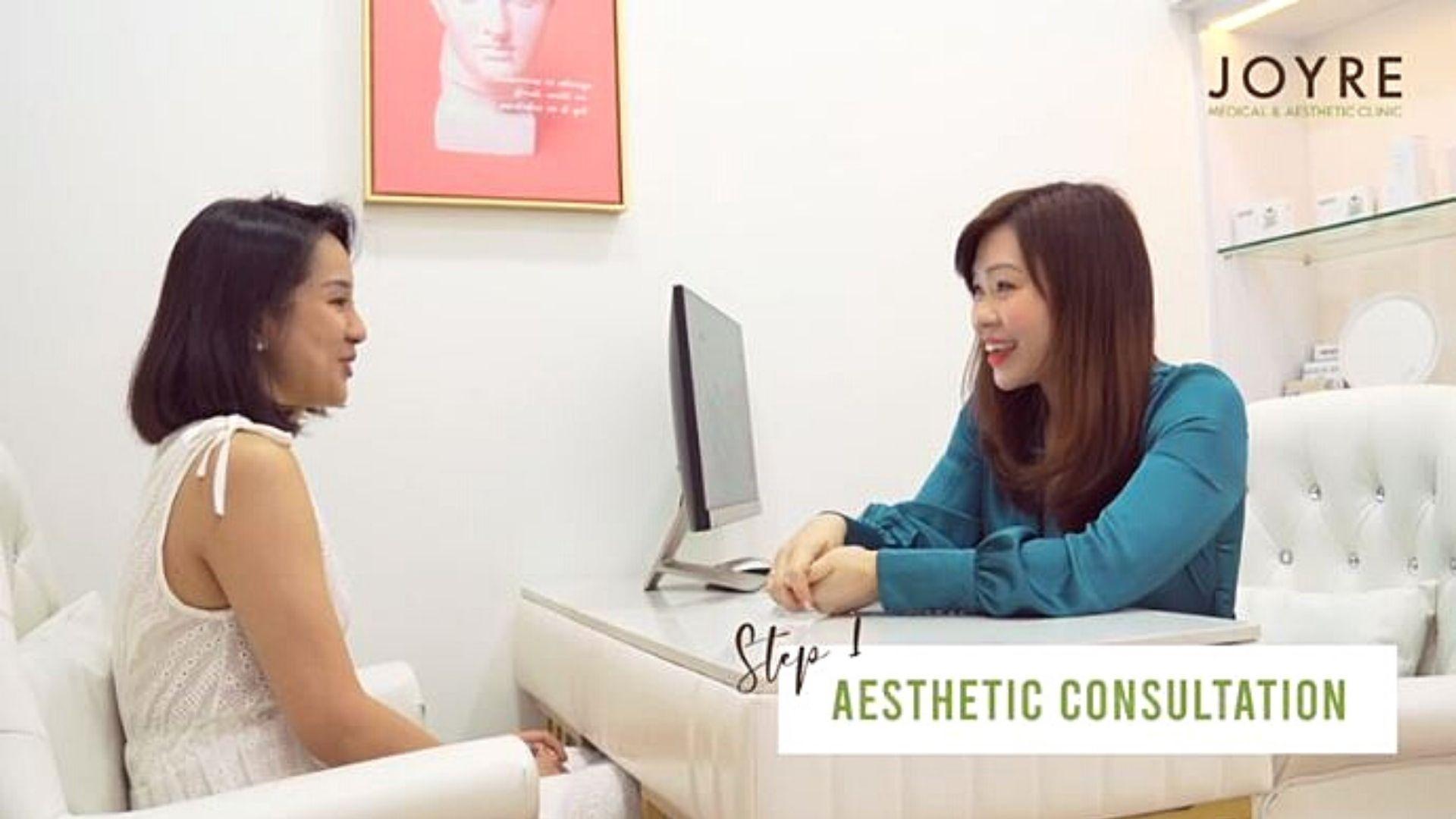 joyre medical aesthetic consultation